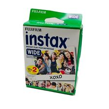 Fujifilm Instax Instant Film Wide Picture Format 20 Sheets NEW