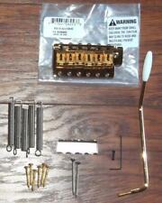 "Fender® American Vintage SRV Strat LH Gold Bridge Assembly~2 3/16""-2 7/32""~New"