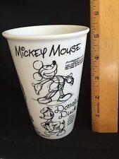 Disney Pluto Goofy Sketch Drawing Coffee Travel Cup Mug Mickey Mouse