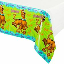 Scooby Doo Party Supplies Plastic Tablecover - 137cm x 243cm