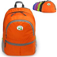 ZaiaZ Foldable Backpacks Water Resistant Camping Hiking Day Orange - ²TV9PE5