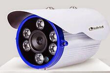 TELECAMERA BIANCA HD CAMERA GRANDANGOLO 1200TVL 4MM da ESTERNO 80MT