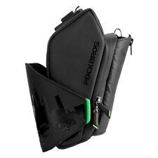 RockBros Waterproof Cycling Bicycle Black Saddle Bag with Water Bottle Pocket