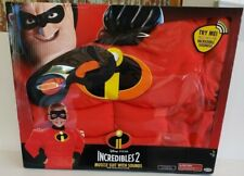Disney / Pixar Incredibles 2 Mr. Incredible Muscle Suit with Sound sizes 4-6x