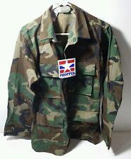 Camo Combat Coat Shirt Long Sleeve Propper International  Size Small Long
