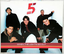 Single-cd five-when the Lights Go Out