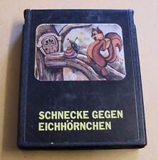 Atari 2600 Game Module-Snail Against Squirrel-Cartridge Black 80er