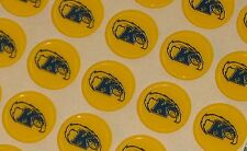 """GOLDEN FLASHES """"Style"""" Football Helmet Award Decals (Qty) 15 FULL Size 3m 20MIL"""