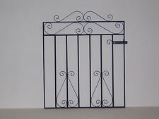 Wrought iron single garden / side gate 3ft high for 4ft wide opening r/h hang
