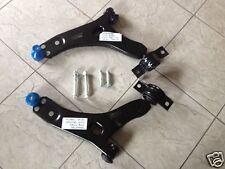 FORD FOCUS MK1 98-04 due FRONTALE INFERIORE WISHBONES Sospensione Bracci + 4 BULLONI di montaggio