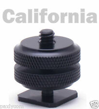 "Pro1/4""-20 Tripod Mount Screw to Flash Camera Hot Cold Shoe Adapter 1-4""-20"