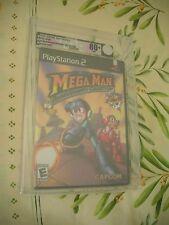 >> VGA 80+ MEGA MAN ANNIVERSARY COLLECTION PS2 NTSC USA NEW FACTORY SEALED! <<