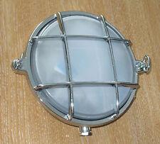 Vano lampada, casa, barca,abitacolo,roulotte 155mm diametro,guarded,Cromo 2028BC