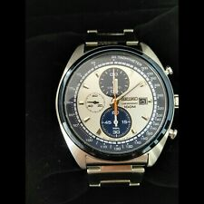 Seiko SNDF87P1 Panda Chronograph, Great gift, Mint condition, Used with tags