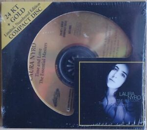 LAURA NYRO - Time And Love AUDIO FIDELITY 24K GOLD CD AFZ 085 SEALED