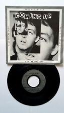 45T vinyl. PAUL Mc CARTNEY ( Coming up ) 1980 .OCCASION.
