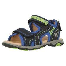 Sandales à attache auto-agrippant en cuir pour garçon de 2 à 16 ans