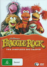 Fraggle Rock - Season 2 - Animation / Children / Family - 4 Disc - NEW DVD