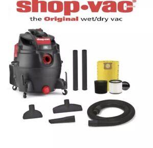 Shop-Vac 16-Gallon 6.5-HP Wet/Dry Powerful Garage Shop Vacuum-Cleaner Heavy Duty