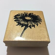Flower - Wood Mounted Rubber Stamp - Anita's