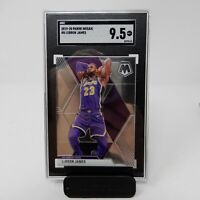 2019-20 Panini Mosaic LeBron James SGC 9.5 Gem Mint LA Lakers