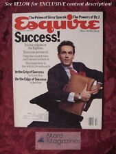 ESQUIRE February 1985 JULIUS ERVING SISSY SPACEK T J. Rodgers