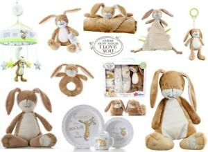 Guess How Much I Love You Soft Toy, Little Nutbrown Hare Rattle, Comforter, Gift