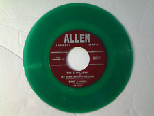 "The 5 Willows 45 rpm ""My Dear, Dearest Darling"" ALLEN 1000 on GREEN-WAX"