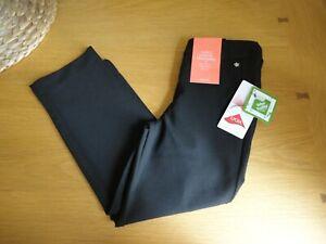 John Lewis Girls Black School Trousers Pull On 3 to 12 Years BNWT FREEPOST