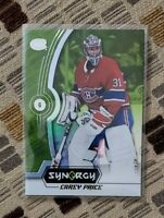 2018-19 Upper Deck Synergy Rare Green Carey Price #31 FREE SHIPPING *COOL*