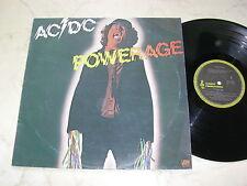 AC/DC Powerage *MEGARARE NEW ZEALAND BLACK ALBERT ORIGINAL LP 1978*