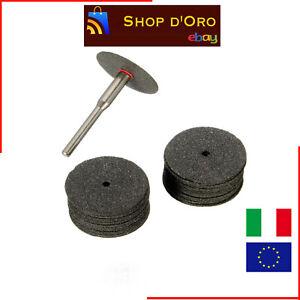 Dischi taglio legno ferro plastica per mini trapano tipo dremel 36 PEZZI