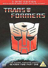 TRANSFORMERS SEASON 2.1 UK REGION 2 DVD