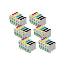 30 tinta COMPATIBLES NON-OEM para usar en Epson SX415 SX-415  T0711 => T0714
