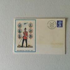 GB 1973 Colchester Tattoo 1973 BFPO pmk cover (m136)