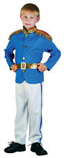 BOYS KIDS ROYAL PRINCE KING MILITARY UNIFORM FANCY DRESS UP COSTUME OUTFIT NEW