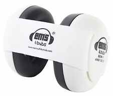 Ems 4 Bubs Baby/Kids Earmuffs Baby/Kids Hearing Protection Autism Sensory White