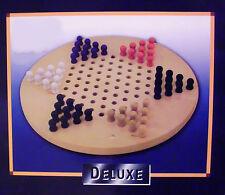 Halma in Holz Deluxe Version bis 6 Spieler , ca 28 cm Durchmesser , NEU , OVP