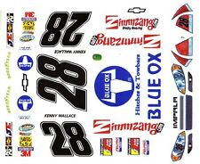 #28 KENNY WALLACE BLUE OX 2010 Chevrolet Impala 1/25th - 1/24th Scale Decals