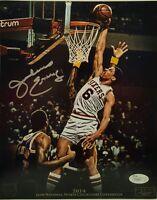 Julius Erving Signed Philadelphia 76ers 8x10 Photo JSA COA