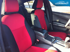 COVERKING NEOSUPREME CUSTOM FIT FRONT & REAR SEAT COVERS FOR DODGE CHARGER