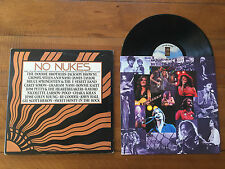 No Nukes Live Muse Concerts for a Non-Nuclear Future ML-801 Asylum 3 LP Insert