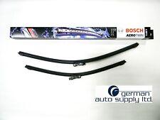 Porsche, Audi Wiper Blade Set - BOSCH - 3397007297, A297S - NEW OEM Blades