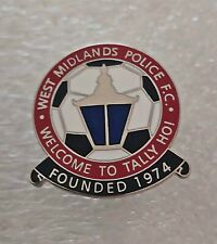 More details for west midlands police fc (birmingham) enamel football club crest pin badge