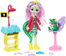 Enchantimals FRH42 lluella LLAMA DOLL E Lanoso Figura