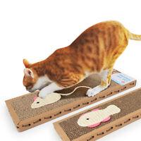1x chat chat conseil pad ondulé grattoir doux tapis tapis de lit soins joITH