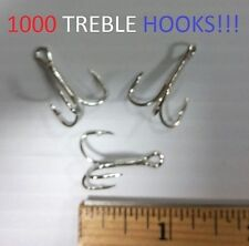 1000 Eagle Claw Sz.4 Reg-Shank Curved-Point Seaguard Treble Hooks(677M-4) 090204