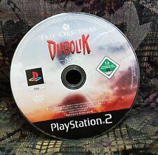 Play Station 2 Spiel PS2 Diabolik  Spiel