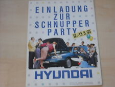 53281) Hyundai S-Coupe Pony Lantra Prospekt 03/1993