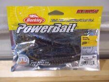 """Berkley Powerbait 5"""" Bearded Grass Pig okochobee craw 6 count package NIP"""